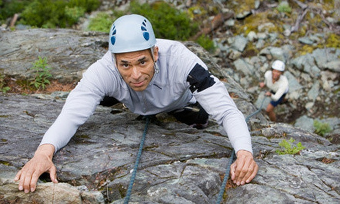 New River Climbing School - New River Gorge: $95 for a Four-Hour Rock-Climbing or Rappelling Tour for Two from New River Climbing School ($190 Value)