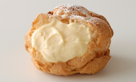 $8.50 for $16 Worth of Cream Puffs and Baked Goods at Beard Papa's
