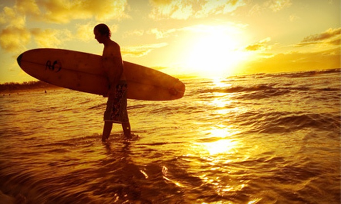 Venice Beach Surf School - Venice Beach Surf School: Two-Hour Surfing Lesson with Gear or Two-Hour Surfboard and Wetsuit Rental at Venice Beach Surf School (Up to 67% Off)