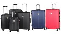 Set de cuatro maletas de viaje