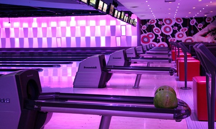 $39 for Bowling, Pizza, and Arcade Games for Four at Palasad (Up to $93.98 Value)