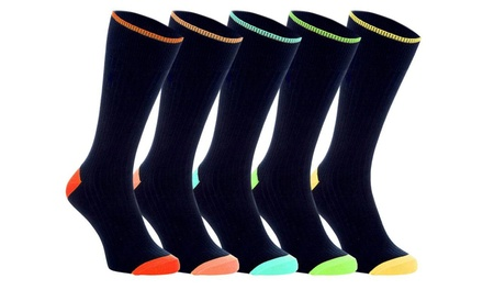10 Pairs of Beverly Hills Polo Club Men's Socks