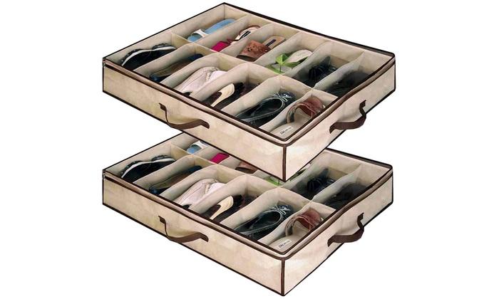 Coffres de rangement chaussures groupon shopping - Portascarpe salvaspazio ...