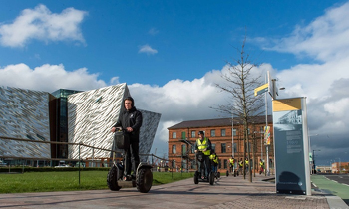 Segway Belfast City Titanic Tours - Belfast: Segway NI: Titanic Quarter Tour For One or Two from £20 (33% Off)