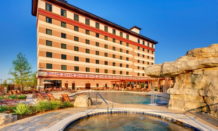 Indigo Sky Casino & Hotel - Wyandotte, OK: 1-Night Stay for Two with up to $250 Slot credit, depending on option, at Indigo Sky Casino & Hotel near Seneca, MO