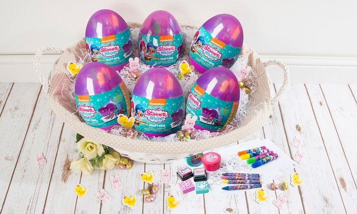 Shimmer and shine craft egg groupon goods for Shimmer and shine craft ideas