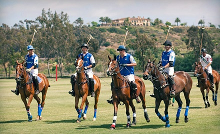 2 General Admission Tickets to The Players Club - San Diego Polo Club in Rancho Santa Fe