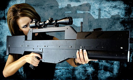 Three Games of Laser Tag for 2 or 4, or Two-Hour Laser-Tag Party for Up to 10 at Battlefield Knoxville (Up to 51% Off)
