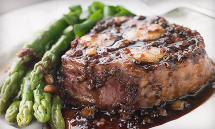 The Cascade Lodge - Durham: $29 for $60 Worth of Upscale Bistro Dinner Cuisine at The Cascade Lodge