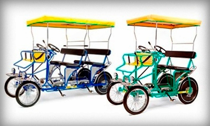Wheel Fun Rentals - Multiple Locations: $15 for $30 Worth of Bike and Outdoor-Gear Rentals from Wheel Fun Rentals