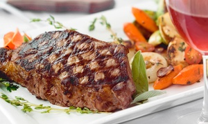 Greenhouse Bar & Grill: Grill Food and Drinks for Two or Four at Greenhouse Bar & Grill (Up to 50% Off)