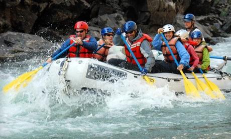 Guided Rafting Trips Down Idaho's Salmon River