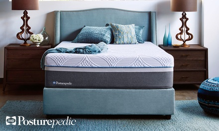Hot Buy: Sealy Posturepedic Hybrid Silver Plush Mattress Set. Free White Glove Delivery. 10-Year Limited Warranty.