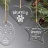 Up to 54% Off Personalized Glass Ornaments