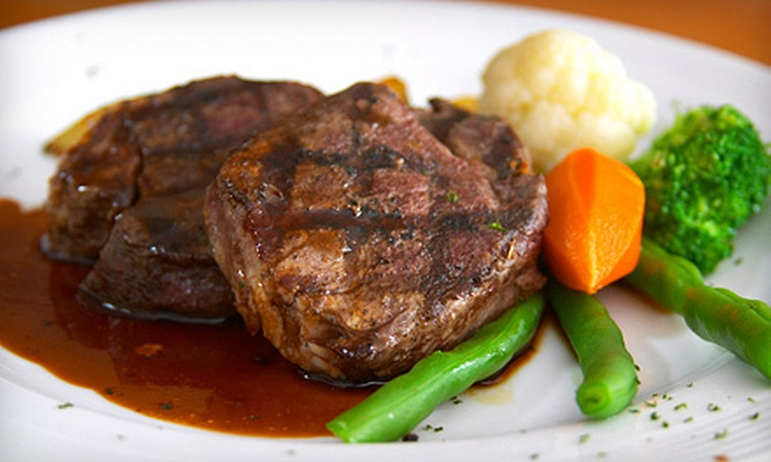 Kally K's Steakery & Fishery - Weeki Wachee Acres: Seafood, Steaks, and Sandwiches at Kally K's Steakery & Fishery (Up to 55% Off) in Spring Hill. Two Options Available.