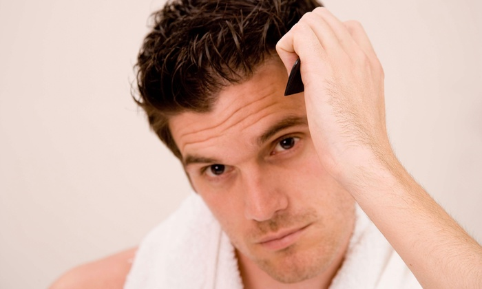 Pacific Look Laser - Los Angeles: A Laser Hair Restoration Therapy Session at Pacific Look Laser (75% Off)