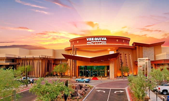 Vee Quiva Hotel & Casino - Suburban Phoenix: 1-Night Stay for Two with Play Vouchers at Vee Quiva Hotel & Casino in Laveen, AZ (a suburb of Phoenix)