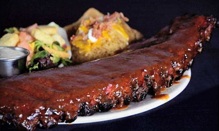 The Full Slab - Third Lake: Barbecue Lunch or Dinner for Two or Four at The Full Slab in Third Lake (Up to 53% Off)