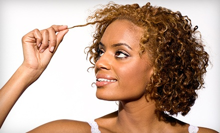 Haircut with Optional Partial or Full Highlights at Cabelo Studio 1 (Up to 73% Off)