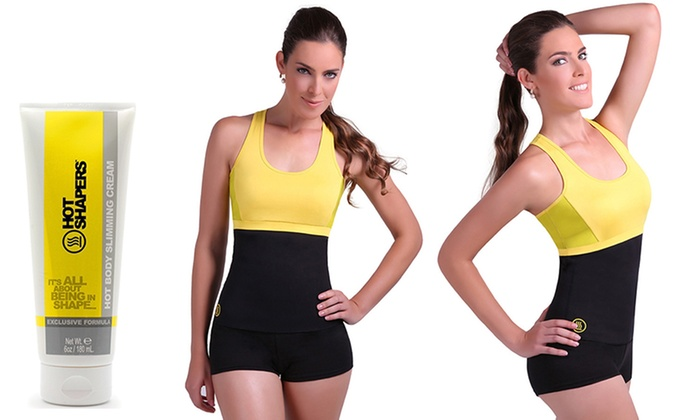 Hot Shapers Waist-Trimming Hot Belt with Slimming Gel