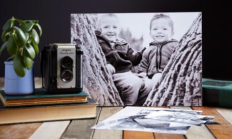 Fotolienzo personalizado a elegir tamaño desde 9,90 € en PonArt Art