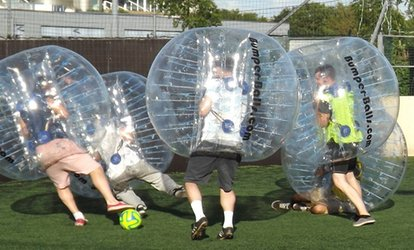 image for Bubble Football Party For Ten Children for £149 at Bristol Bubble Ball