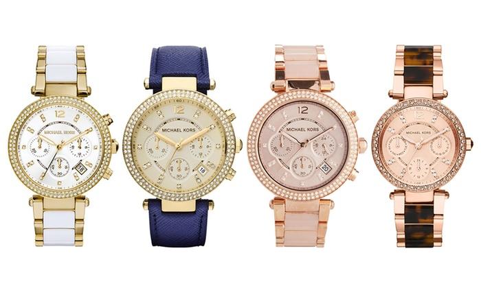 703b0fd6108d Michael Kors Parker Watches