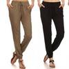Women's Solid Jogger Pants