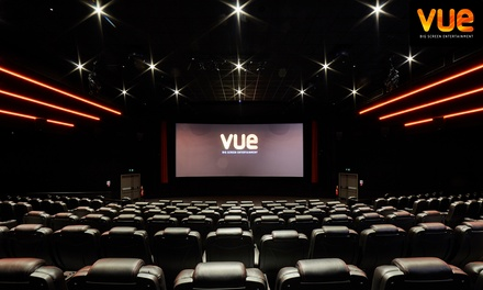 Vue: Three Cinema Tickets from £12.96, Valid at over 80 Locations Nationwide (Up to 67% Off) Valid from 29th August