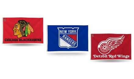 NHL 3'x5' Banner Flag