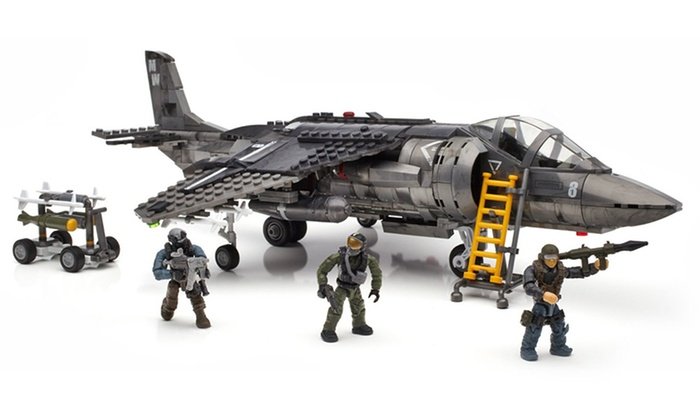 Mega Bloks Call Of Duty Strike Fighter Building Set Groupon