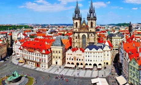 Praga: habitación doble estándar para 2 personas con desayuno y aparcamiento en el Hotel Globus