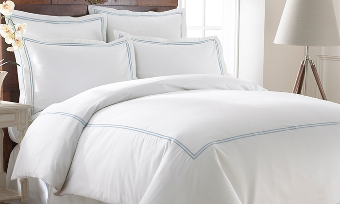 Italian Hotel Collection 600tc Duvet Sets 3 Piece