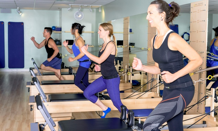 Pilates V - Multiple Locations: Five Pilates Reformer Classes at Pilates V (57% Off)