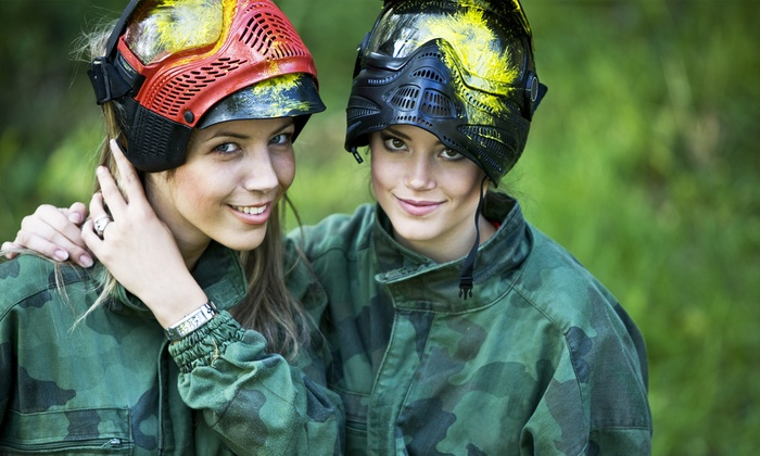 Playground Paintball Park - Mantua: Paintball Package for Up to 4, 8, 12, or 20 People at Playground Paintball Park (Up to 92% Off)