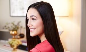 Compliments Hair Salon with Shirlee: Haircut and Keratin Smoothing with Optional Highlights from Shirlee at Compliments Hair Salon (Up to 67% Off)