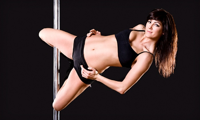 Urban Fitness Club - Downtown: Five or 10 Pole Dance Classes at Urban Fitness Club (Up to 80% Off)
