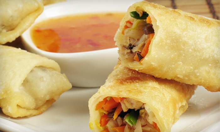 Mandarin House - Knoxville: $12 for Chinese Buffet with Tea for Two at Mandarin House (Up to a $23.96 Value)