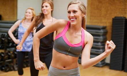 One-Month Unlimited Membership, or 5 or 10 Class at Midtown Fitness (Up to 58% Off)