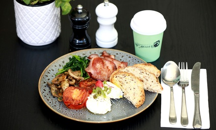 All-Day Breakfast with Drink Each for One ($9.90), Two ($19) or Four People ($37) at 9 Meal Cafe (Up to $72 Value)