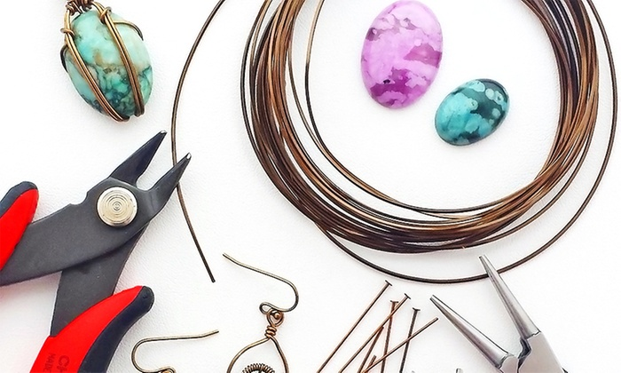 Capital City Beads - Midtown: Three Beading/Crafting Classes for One or $20 Worth of Beads or Jewelry at Capital City Beads (Up to 45% Off)
