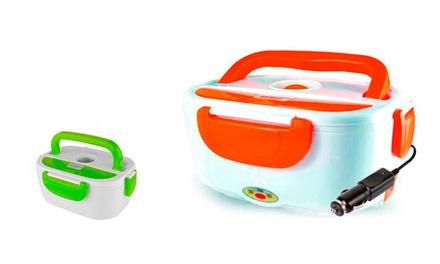 Marmita elétrica com carregador para carro disponível em duas cores por 21,90€