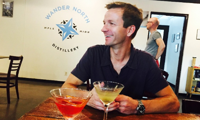 Wander North Distillery - Mid-City Industrial: Drink Package for Two or Flight-Tasting Package for Four or Six at Wander North Distillery (Up to 51% Off)