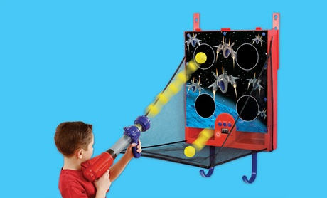 Electronic Over-the-Door Space Ball Blaster Game