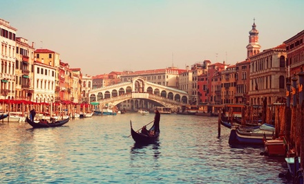 Groupon Deal: 9-Night, Three-City Italian Vacation with Airfare and Accommodations from go-today