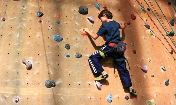 Adventure Rock Indoor Climbing Gym - Brookfield: $55 for an Indoor Rock-Climbing Membership & Intro Climbing Lessons at Adventure Rock Indoor Climbing Gym ($99 Value)