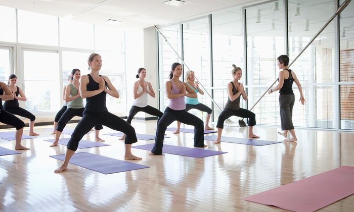 Desk Meets Mat - Denver: Three Group Sessions of Office Yoga with Desk Meets Mat (50% Off)