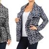 Women's Geometric Wrap Jacket
