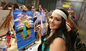 Brush Party: One or Two BYOB Painting Classes at Brush Party (Up to 45% Off)