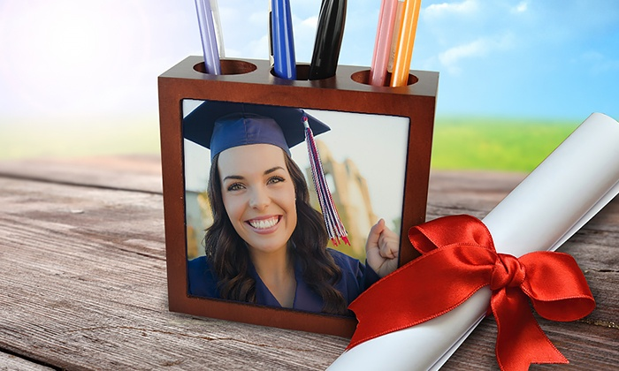 MailPix: $14.99 for a Personalized Pen and Pencil Holder from MailPix ($30 Value)